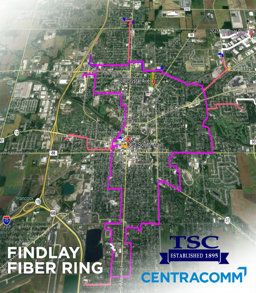 Ultra-High-Speed fiber launches for Findlay businesses